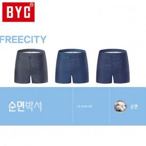 [BYC] 남성 프리시티 3매입 트렁크팬티(Y2024) 이미지