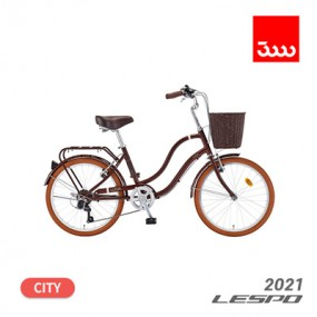 [삼천리] 21년형 레스포 루시아 7단 22인치 시티형 바구니 자전거 (100% 완조립) 이미지