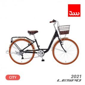 [삼천리] 21년형 레스포 루시아 7단 26인치 시티형 바구니 자전거 (100% 완조립) 이미지