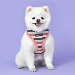 [퍼피아] 강아지 롤리 반려애견 하네스A 2종 (인디안 핑크/네이비) 이미지