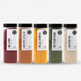 가수 조항조가 추천하는 기능성쌀 5종SET (1kg X 5개) 이미지
