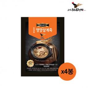[논현삼계탕] 논현동 영양 삼계죽 600g x 4개 이미지