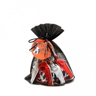 [떼르드글라스] 떼글이 발렌타인 초콜릿 선물세트(18gx9입) / 저칼로리 비정제설탕 유기농인증 어린이간식 임산부간식 이미지