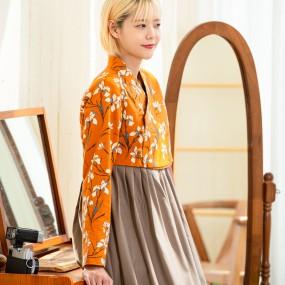 [더고은 생활한복] 가야꽃 저고리 이미지