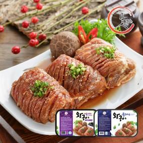 [지팔자]★33데이★ [고향미트] 맛기픈 블루베리/아로니아 돼지왕구이 900g 골라담기 3팩(2.7kg) 이미지