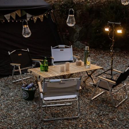 까사마루 자작나무 롤 테이블 L 이미지