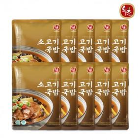 [교동식품] 하우촌소고기국밥 600gx10팩(냉동) 이미지