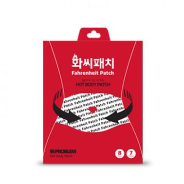 [슬림바디챌린지] [95PROBLEM] 셀룰라이트 감소 화씨패치 7매입 무료배송 이미지