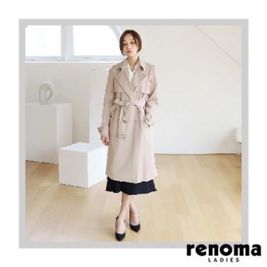 ★아라쇼 6회 코디상품★ [레노마레이디스] 폴리스판 트렌치코트 이미지
