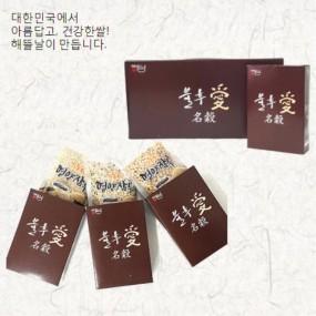 [정월대보름] [해뜰날] 불후애명곡 3종 잡곡선물세트 A-1호(병아리콩,귀리,혼합19) 0.9kg 이미지