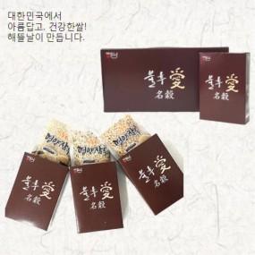 [정월대보름] [해뜰날] 불후애명곡 3종 잡곡선물세트 A-3호(현미,찰흑미,찰보리) 0.9kg 이미지