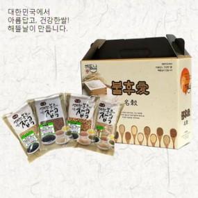 [정월대보름] [해뜰날] 불후애명곡 슈퍼푸드 4종 선물세트(귀리,렌틸콩,병아리콩,혼합19곡) 2.0kg 이미지