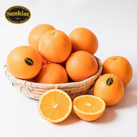 [아자픽] 풍성한 단맛! 썬키스트 블랙라벨 고당도 오렌지 88과 1박스 (17kg) [진원]