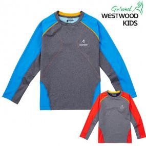 [웨스트우드] 키즈-지그재그포인트 아동 티셔츠(WG1KTTR485) 이미지