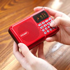 [코비]블루투스 효도라디오 블루투스스피커 FM SD카드 USB메모리 미니라디오 HYO90BT 이미지