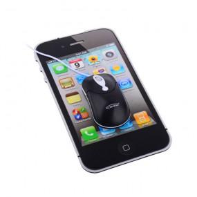 레트로 아이폰 모양 마우스패드 이미지