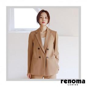 ★아라쇼 6회 방송상품★ 레노마레이디스 더블 버튼 지켓 이미지