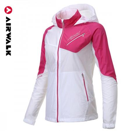[애터미아자 특별가] 가볍고 실용적인 ★에어워크 여성 경량 바람막이 자켓 W505 핑크