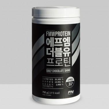 [슬림바디챌린지][에프엠더블유] 단백질 보충제 프로틴 파우더 (초코맛 / 750g) 이미지