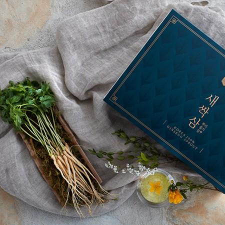 [산지직송] 담양 새싹삼 고급 선물세트 100뿌리(18~20cm내외) 이미지