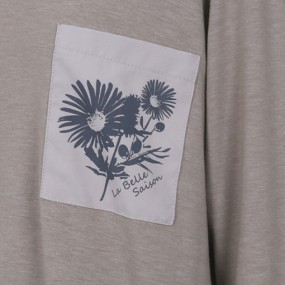 [COUPS] 우븐 배색 포켓티셔츠 CM316T1 이미지