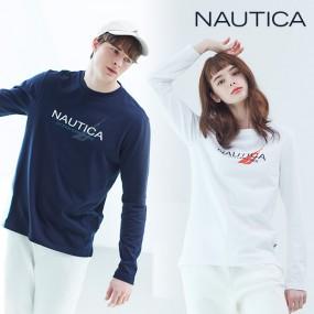 [NAUTICA] NEW 노티카 남여 클래식 로고 긴팔티셔츠 2종 택1 이미지
