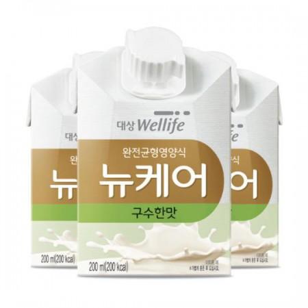 [뉴케어 1위제품][뉴케어] 구수한맛 200mlx30팩 1박스 / 완전 균형 영양식