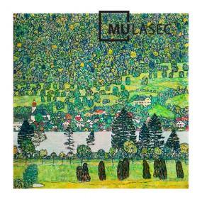 뮤라섹 구스타프 클림프 아테제호수숲의경사면 70x70x3.5cm 이미지