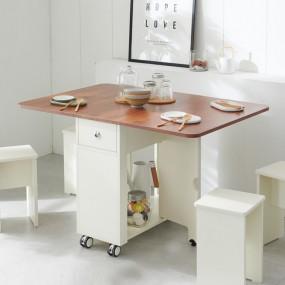 이동형 폴딩 테이블 식탁(LPM) KD452 이미지
