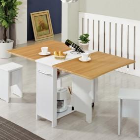 이동형 폴딩 테이블 식탁(멤브레인) KD453 이미지