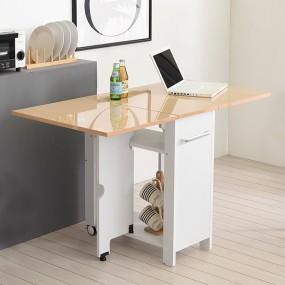 이동형 폴딩 테이블 식탁(하이그로시600) KD454 이미지