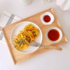 [맛의고수] 대파품은 바삭 야채튀김 180g (3개입) 이미지
