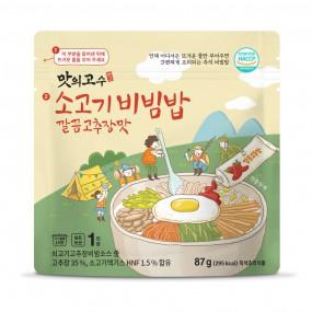 [맛의고수]간편한 소고기비빔밥  깔끔고추장맛 87g 이미지