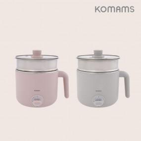 [보만] 코맘스 1.2L 다용도 라면포트 EP1282P(핑크)/EP1283G(그레이) 이미지