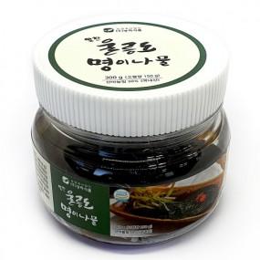 [알찬] 맛있는 반찬 알찬 새콤달콤 맛있는  울릉도 명이나물절임 300 g 이미지