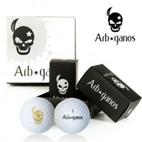 [아브가노스] 비거리 전용 2piece 골프공 4알 * 5box (20알) 이미지