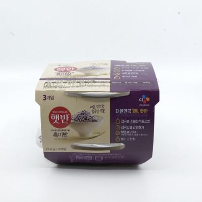 [아자마트]CJ 햇반 흑미밥 210g*3입