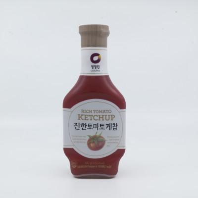 [아자마트]청정원 진한 토마토케찹 500g