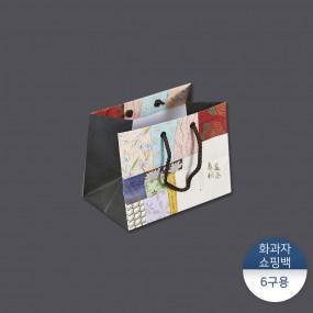 [패킹콩] 화과자쇼핑백-춘하추동 6구 이미지