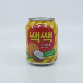 [아자마트]롯데 쌕쌕 오렌지 캔 238ml 이미지