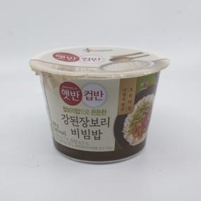 [아자마트]CJ 햇반 컵반 강된장보리비빔밥 280g 이미지
