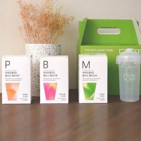 [라이프샐러드] 웰니스쉐이크 파우치 ALL SET 25gx30포 (P+B+M+쉐이커) 식사대용 간편식/ 단백질보충 이미지