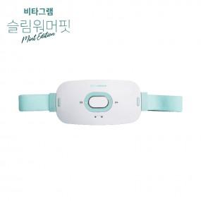 [비타그램]★건강한 복부 관리★슬림워머핏 / 무선 진동 온열 복부 마사지기 이미지