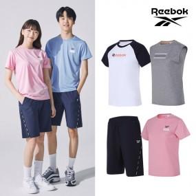 [REEBOK] NEW 리복키즈 클래식 티셔츠/반바지 여아 4종세트 이미지