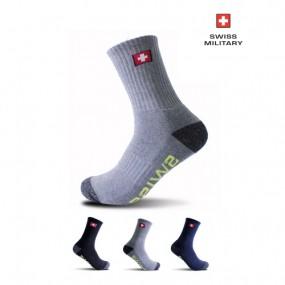 [스위스밀리터리]SM-R01 남성 등산 안전 장목 양말 1+1 이미지