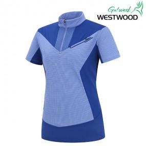 [웨스트우드] Y라인 웰딩포인트 여자티셔츠(WF2WMTS356) 이미지