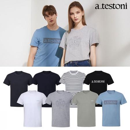 [아테스토니] 남여 공용 베이직 언더셔츠 1종 택일 최신상 이미지