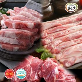 [안양축협]국산돼지 삼겹살 500g+앞다리(불고기)500g+가브리살500g 이미지