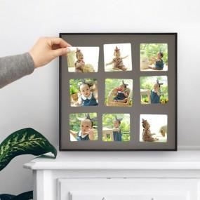 UHD급 고화질 메탈 포토 블럭 마그넷 퍼즐 스퀘어 액자(대) 이미지