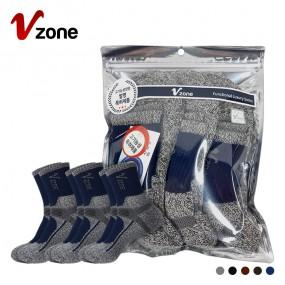 폴턴 V존 남성 안전 양말 PVC 3족 세트 이미지